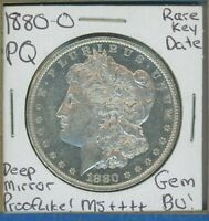 1880 O MORGAN DOLLAR $1 US MINT  KEY DATE GEM PQ SILVER COIN 1880-O DMPL MS