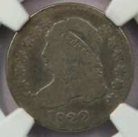 1822 CAPPED BUST DIME NGC AG3  FOR THE GRADE KEY DATE