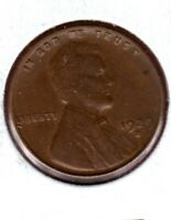 1929-S LINCOLN WHEAT CENT SOFT STRUCK OBVERSE  EXTRA FINE  COIN C402