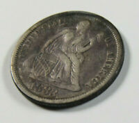 1883 SEATED LIBERTY DIME US COIN