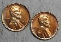 PAIR OF LINCOLN CENTS, ONE EACH 1926 & 1929, ALMOST UNCIRCULATED - DISCOUNTED
