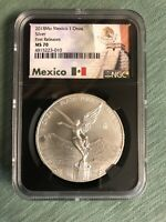 2018 MEXICO LIBERTAD 1 ONZA NGC MS70 FIRST RELEASES MEXICO B
