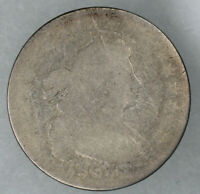 1805 DRAPED BUST DIME 10C REVERSE MOUNT REMOVED AG ABOUT GOOD 9673