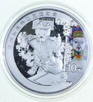 2008 BEIJING OLYMPIC GAMES SILVER COIN CHINA 10 YUAN   RARE