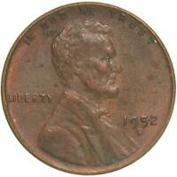 1952 D LINCOLN WHEAT CENT ABOUT UNCIRCULATED PENNY AU