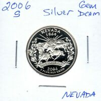 2006 S SILVER NEVADA STATE QTR GEM PROOF DEEP CAM MIGHT SELL