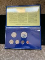 1975 FIRST COINAGE OF THE BRITISH VIRGIN ISLANDS 6 COIN SET