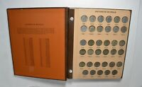 1938 1980 W/ BU JEFFERSON NICKEL SET COIN COLLECTION LOT ALB