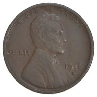 1916-D LINCOLN WHEAT CENT 5671