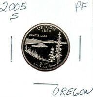 2005 S OREGON STATE QUARTER GEM PF DEEP CAMEO  MIGHT SELL 1S