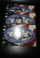 1999  2000 2001 US MINT COIN SETS STATE QUATERS COA  PHILADE