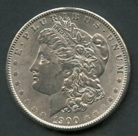 UNITED STATES 1900  MORGAN SILVER DOLLAR  YOU DO THE GRADING HAVE FUN