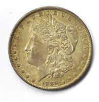 1889 $1 MORGAN SILVER ONE DOLLAR VAM 28A PITTED REVERSE PHILADELPHIA HIT LIST 40