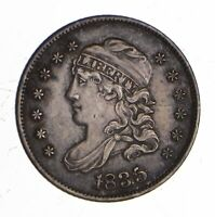1835 CAPPED BUST HALF DIME - SHARP 1228