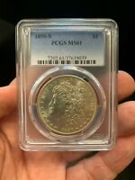 1890 S MORGAN DOLLAR UNCIRCULATED GREAT COIN MUST HAVE FOR COLLECTION
