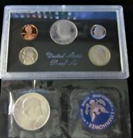 1971 S UNCIRCULATED EISENHOWER 40 SILVER BU $1 DOLLAR 1983 PROOF  US MINT COIN