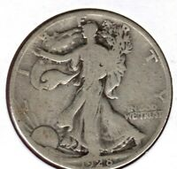 1928-S SILVER WALKING LIBERTY HALF DOLLAR GRADES GOOD  JC212