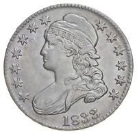 1833 CAPPED BUST HALF DOLLAR 6781