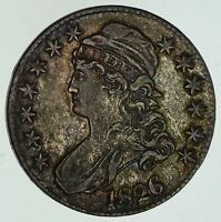 1826 CAPPED BUST HALF DOLLAR - NEAR UNCIRCULATED 4616