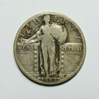 1928 STANDING LIBERTY QUARTER US COIN