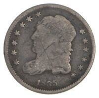 RARE   1835 CAPPED BUST HALF DIME   TOUGH TO FIND   US EARLY