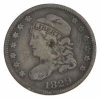 RARE   1829 CAPPED BUST HALF DIME   TOUGH TO FIND   US EARLY
