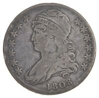 1808 CAPPED BUST HALF DOLLAR   PRESTIGE COIN COLLECTION  370