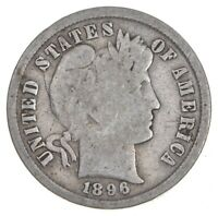 BETTER 1896   US BARBER LIBERTY SILVER DIME COIN COLLECTION