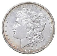 1897-O MORGAN SILVER DOLLAR 5491