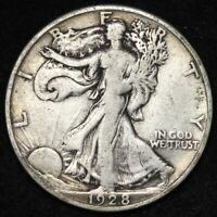 1928-S WALKING LIBERTY HALF DOLLAR CHOICE FINE SHIPS FREE E334 YCE