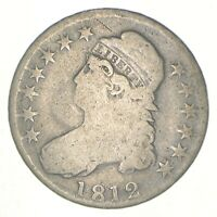 1812 CAPPED BUST HALF DOLLAR   CHARLES COIN COLLECTION  644