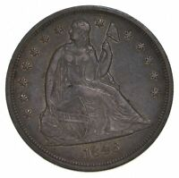1846 SEATED LIBERTY SILVER DOLLAR 5378