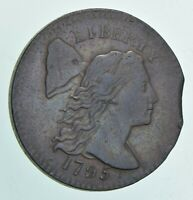 1795 LIBERTY CAP LARGE CENT - CLIPPED PLANCHET 6034