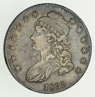 1835 CAPPED BUST HALF DOLLAR - CIRCULATED 9539