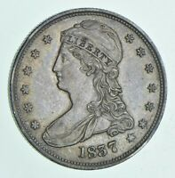 1837 CAPPED BUST HALF DOLLAR 6111
