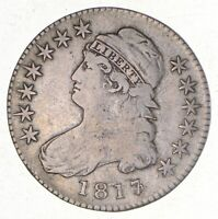 1817/3 CAPPED BUST HALF DOLLAR 2581