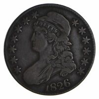 1826 CAPPED BUST HALF DOLLAR - CIRCULATED 9057