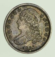 1833 CAPPED BUST DIME - CIRCULATED 0036