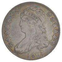 1807 CAPPED BUST HALF DOLLAR - LARGE STARS 7391