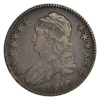 1817 CAPPED BUST HALF DOLLAR - CIRCULATED 2155