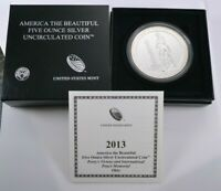 2013 P ATB FIVE OUNCE SILVER PERRY'S VICTORY UNCIRCULATED CO