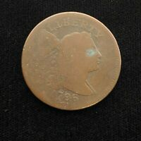 1796 FLOWING HAIR LARGE CENT   AG/VG