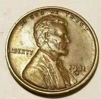 1931 S EXTRA FINE  XF  LINCOLN WHEAT PENNY CENT ALL ORIGINAL