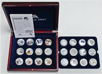 24 AUSTRALIAN HERITAGE SILVER COINS .999 SILVER RAM PROOF SE