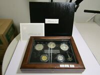 KIRIBATI PROOF 5 COIN SET  2000  THE FIRST OFFICIAL COINS OF