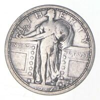 1917 STANDING LIBERTY QUARTER   CHARLES COIN COLLECTION  376