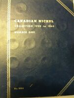 CANADIAN 5 CENT COLLECTION 1922 2012 COMPLETE W/ 1925 1926 N