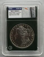 1886 P VSS VAM 6A HIGH 6, CLASHED OBV N  MULTIPLE CLASHES REV.   COIN