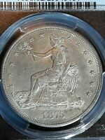 OLD WEST MS 62 1875  CC TRADE DOLLAR CERTIFIED 25345757 PCGS