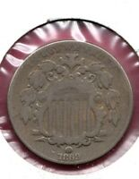 1869 SHIELD NICKEL GRADES  GOOD YOU CAN BUY IT NOW TODAY C466